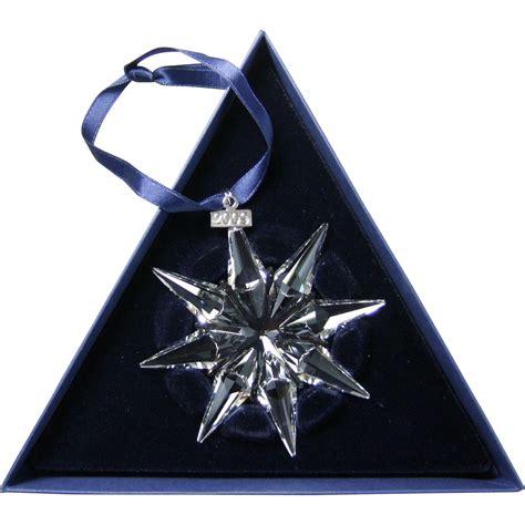 2009 swarovski crystal snowflake annual edition christmas