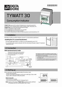 Delta Dore Tywatt 30 User Manual