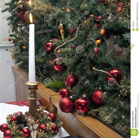 christmas decorations italy royalty free stock photo