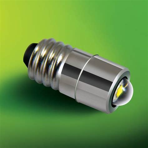1w 3w base led replacement flashlight bulbs from