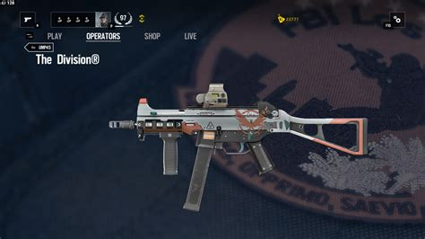 image ump45 the division png rainbow six wiki fandom