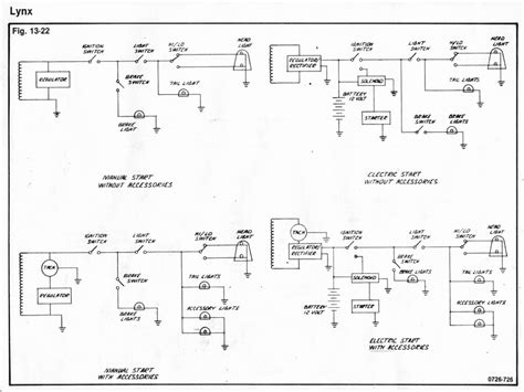 wiring diagram for 1973 arctic cat snowmobile 45 wiring