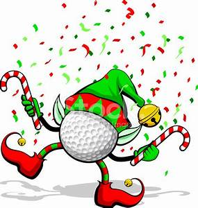 Golf Christmas Elf Stock Vector - FreeImages com