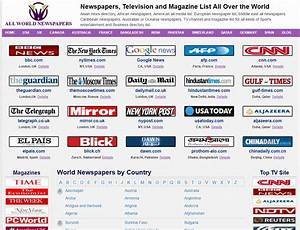 World Online Newspapers list