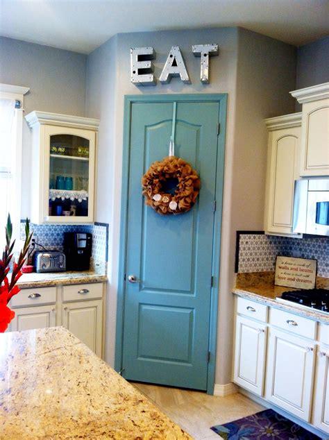 painted pantry door 10 project benjamin moore azores