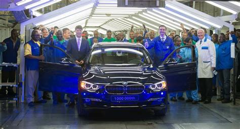 Bmw South Africa Plant bmw has produced 1 million 3 series sedans in south africa