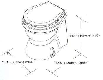 Boat Parts Whitworths by Whitworths Marine Tmc Electric Luxury Marine Toilet 12 Volt