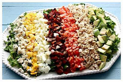 Salad Cobb Lettuce Chopped Iceberg Onions Recipes
