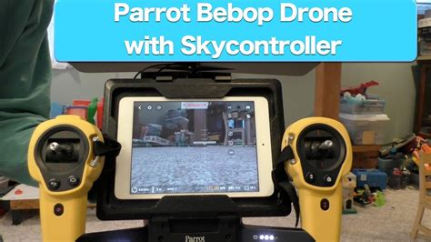 parrot bebop drone  skycontroller review part  youtube