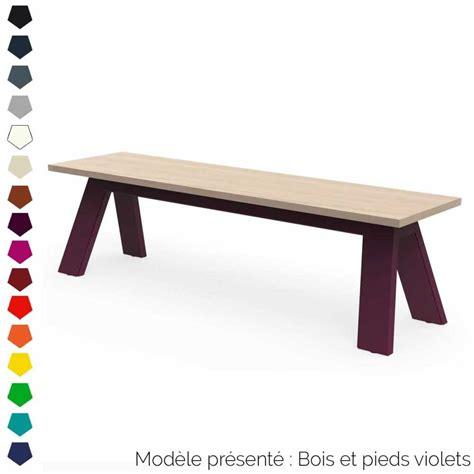 banc design en bois  metal personnalisable interieur