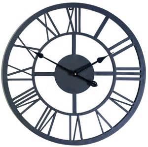 large outdoor indoor numeral wall clock big