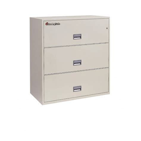 sentry fireproof file cabinet sentry 3l3600 3 drawer file cabinet with fire rating