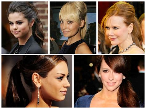 ponytail   face shape women hairstyles