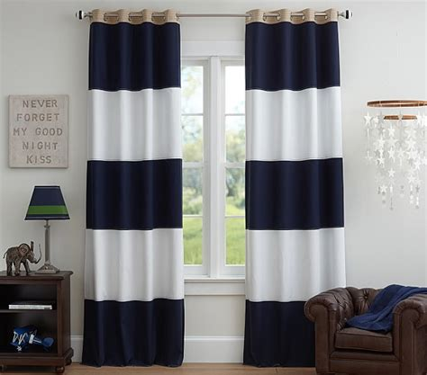 pottery barn blackout curtains rugby blackout panel pottery barn