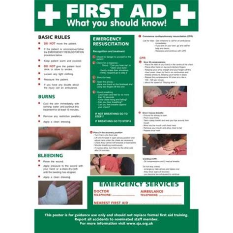 Stewart Superior Hs101 Screw Laminated Poster  First Aid
