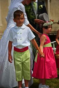 Tenue Garçon D Honneur Mariage : les cort ges de garance cort ge h l ne fuchsia et vert anis ~ Dallasstarsshop.com Idées de Décoration