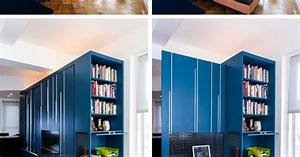 A Custom Space Saving Solution Designed For A Small New ...