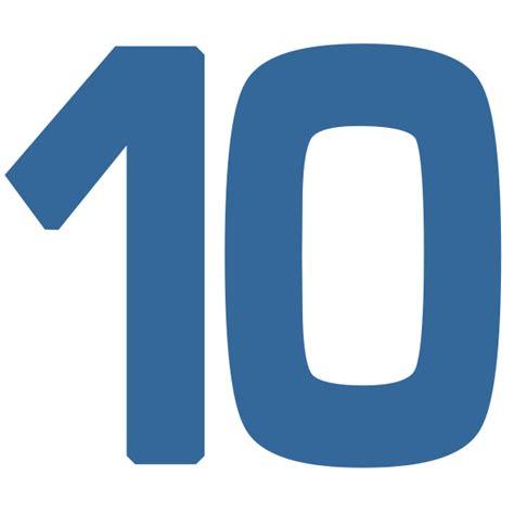 ten clipart png 10 dr