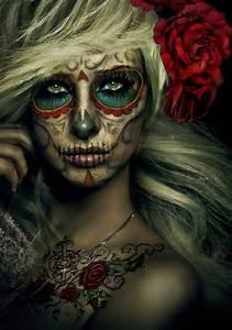 Déguisement Halloween Qui Fait Peur : maquillage halloween femme qui fait pas peur ~ Dallasstarsshop.com Idées de Décoration
