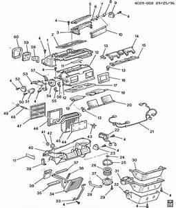 1998 Buick Park Avenue Ultra A  C  U0026 Heater Module Asm