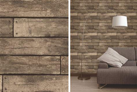 wood plank effect wallpaper fine decor brown wooden plank realistic wood design 3d effect wallpaper ebay