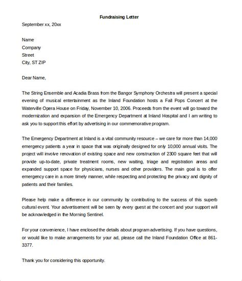 fundraising letter template fundraising letter template 7 free word pdf documents free premium templates