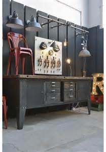 Industrial Garage Decor