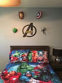 avengers boys bedroom designs Avengers wall decor | Avengers bedroom | Pinterest | 2!, Wall décor and Bedspread.