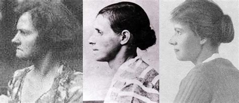 Photographs Of Anna Anderson (far Left And Right) And Her