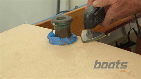apply kiwi grip nonskid paint   boat deck youtube