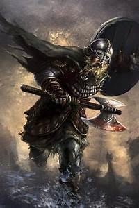 Viking, Warrior, Art