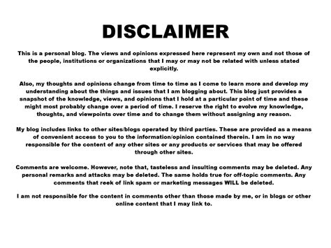 page disclaimer disclaimer roymarkcorrales