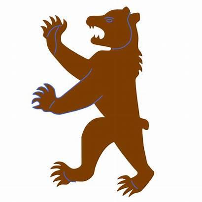 Bear Brown Clip Clker Clipart Cliparts Vector