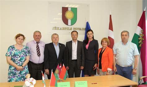 Jēkabpils novada pašvaldība uzņem viesus no Baltkrievijas