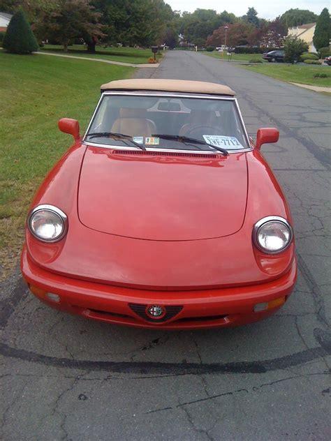 Italianstud87 1991 Alfa Romeo Spider Specs, Photos