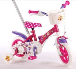 95 ford ranger kinderfiets 10 inch minnie mouse yipeeh meidenfiets met duwstang