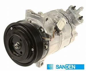12792669  Saab A  C Compressor W   Clutch 9-3 B284 2 8t V6  Sanden