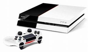 Black and white PS4 concept. | Sony Playstation 4 (PS4 ...