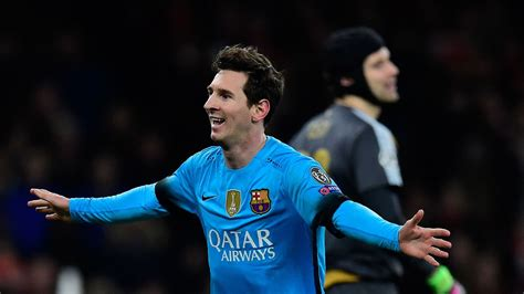 Arsenal 0-2 Barcelona: Lionel Messi scores twice to hand ...