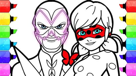 miraculous ladybug coloring pages   draw  color