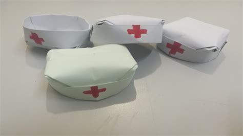 easy nurse hat cap doctor origami nurse