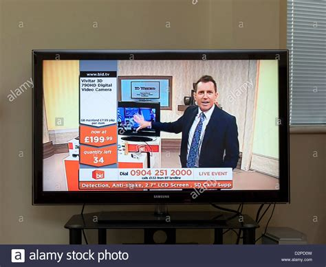 bid up tv bid tv shopping channel stock photo 53353577 alamy