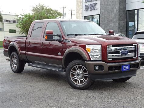 2016 Ford Super Duty F 250 SRW King Ranch San Antonio TX