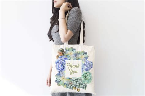Surprise your customers with a wonderful presentation of packaging. Tote Bag Mockup