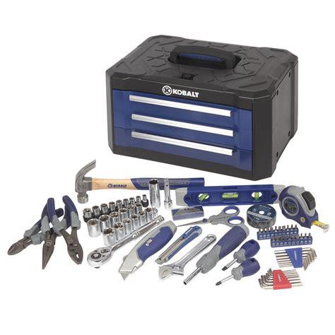 plastic storage drawer sets shop kobalt household tool set 84 at lowes com