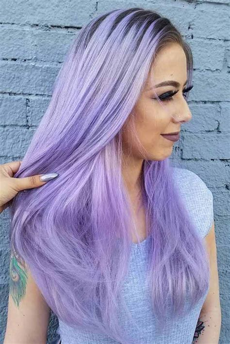 Colors To Dye Hair by 33 Light Purple Hair Tones That Will Make You Want To Dye