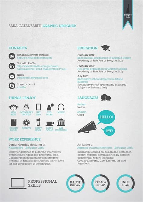 Interesting Resumes Layouts by 17 Best Images About Resume Design Layouts On