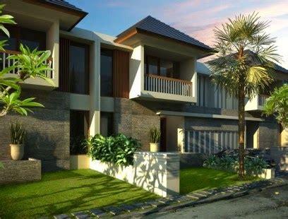 desain unik rumah villa tropis minimalis modern rumah