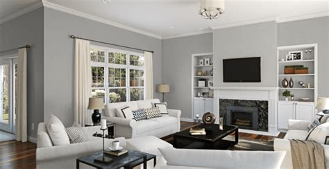 Top Gray Living Room Colors by Debut Of My New Gray Paint Color Allwood