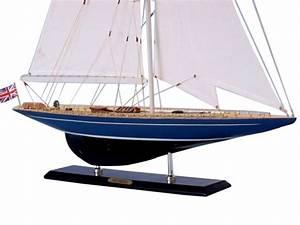 Velsheda Limited 35quot Wooden Model Sail Boat Wood